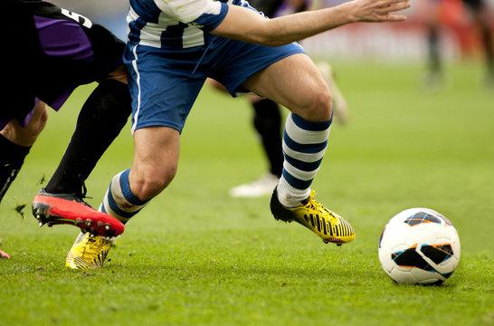 Futbol. Accion de ataque