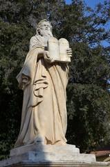 SALON-DE-PROVENCE : Statue de Moïse