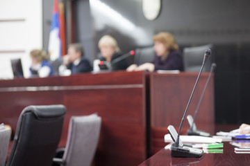 judges at court house