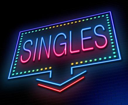 Singles concept.