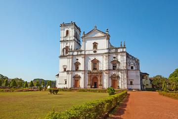 Aluminium Prints Ruins Se Cathedral. Old Goa, India.