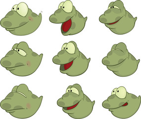 Set of Tadpoles Cartoons