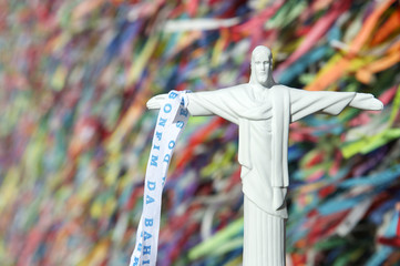 Christ the Redeemer Souvenir Brazilian Wish Ribbons