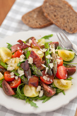 Salat mit Spargel