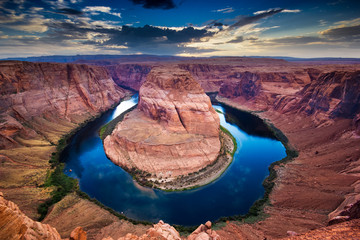 Wall Mural - Grand Canyon, horseshoe bend, colorado river