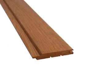 Clean freshly cut wooden plank