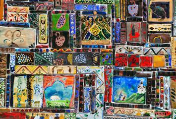 Vintage mosaic