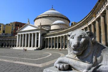Foto auf AluDibond Neapel Piazza del Plebiscito à Naples - Italie