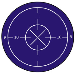 target vector drawing