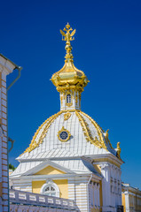 Closeup of dome with Russian Eagle