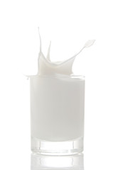 Splasing Milk