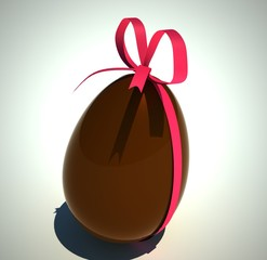 gros oeuf en chocolat
