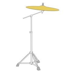 cartoon image of musical instrument