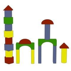cartoon image of wooden brickbox