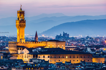 Firenze, Palazzo della Signoria Wall mural