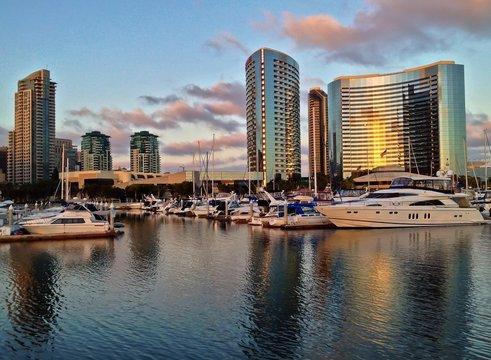Embarcadero Marina Park, Seaport Village, San Diego, California