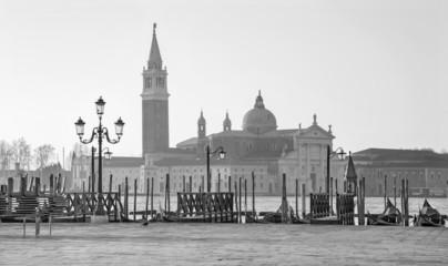 Venice - Waterfront and San Giorgio Maggiore church