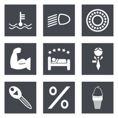 Icons for Web Design set 34