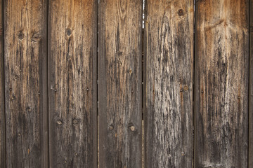 Wood background made of vertical boards