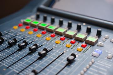 Large Music Mixer desk
