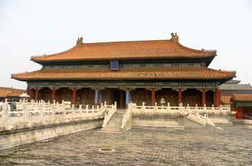Pechino: padiglione all'intero della città proibita