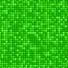 Green tile seamless pattern