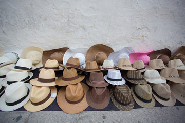 Fashion hat shop in Colombia