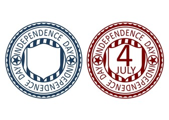 Inependence day stamp