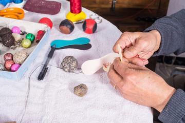 Making jai alai balls