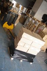 transport logistique - entrepôt