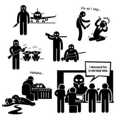 Hijacker Terrorist Airplane