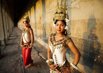 Traditional Aspara Dancers Cambodia