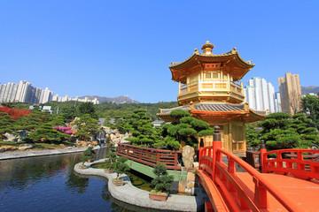 Foto op Aluminium Hong-Kong Nan Lian Garden, in Diamond Hill, Hong Kong.