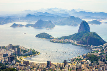 In de dag Rio de Janeiro Rio de Janeiro
