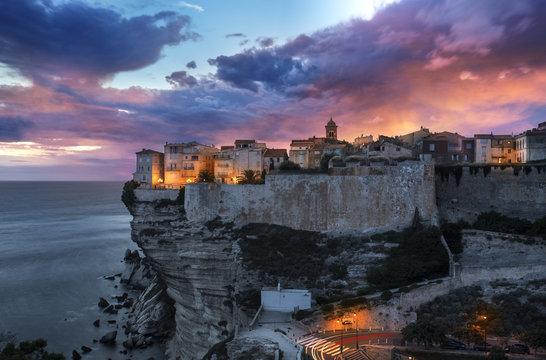 Corse Ville de Bonifacio