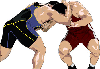 Wrestling fighting