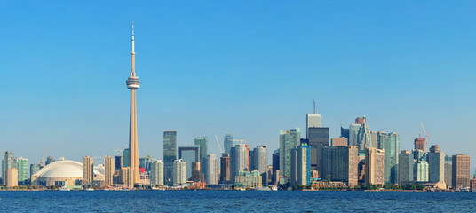 Wall Mural - Toronto skyline in the day