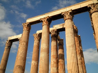 Temple Ruins in Athens