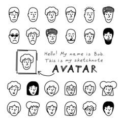 Sketchnote Avatars