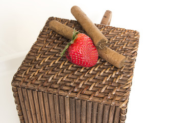 strawberry cigars
