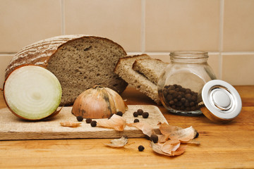 bread with onion