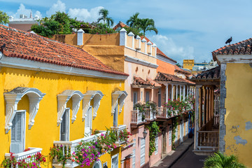 Leinwandbilder - Colonial Balconies
