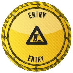 entry button