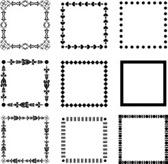 Frames pattern (set25)