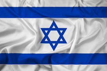 Waving Israel Flag