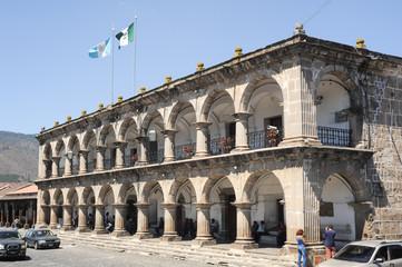 Palace of Ayuntamento at Antigua