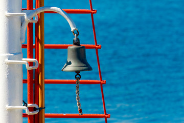 Bell on a ship