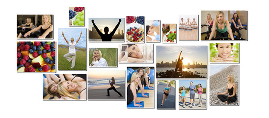 Healthy Men Women People Lifestyle & Exercise