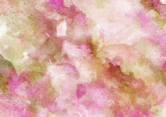 Beautiful Colorful Watercolor Background for Design.