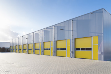 commercial warehouse Wall mural